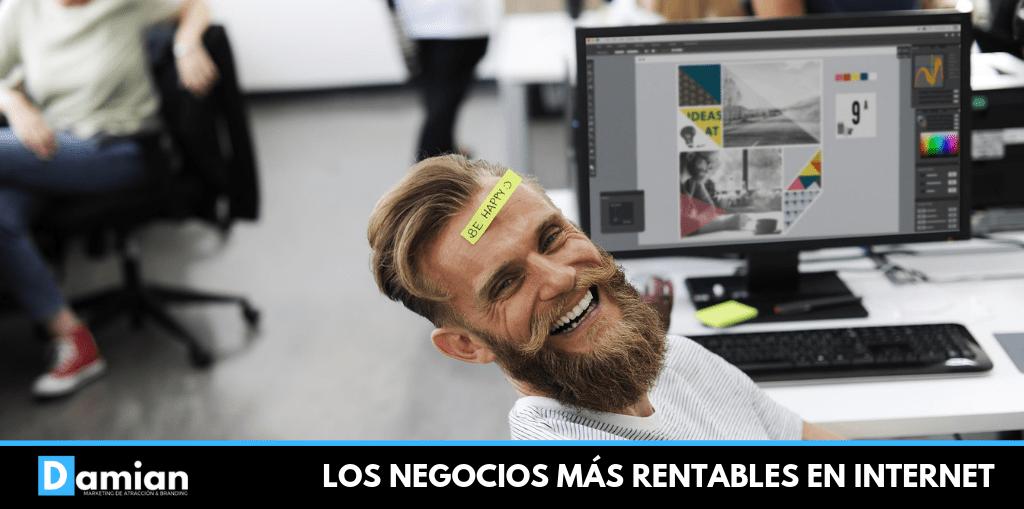 LOS NEGOCIOS MÁS RENTABLES EN INTERNET
